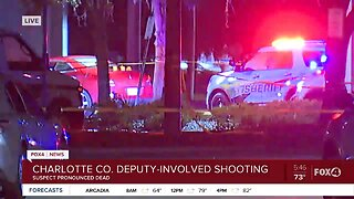 Suspect killed in deputy-involved shooting