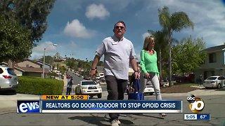 Going door-to-door to fight opioid crisis