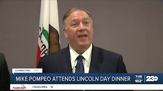 Former Secretary of State Mike Pompeo attends Lincoln Day Dinner in Bakersfield