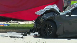 Driver accused of going 104 mph in fatal crash