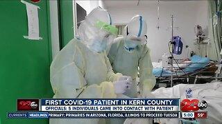 Kern County's first coronavirus patient confirmed