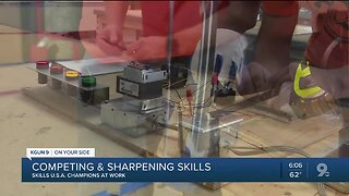 Southern Arizona students sharpen their skills in construction, manufacturing