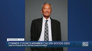 Former Arizona Councilman Calvin Goode dies