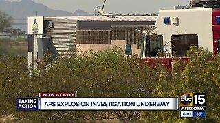 APS explosion investigation underway