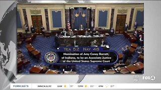 Amy Coney Barrett swears into the Supreme Court