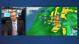 Trent Magill provides a Monday morning weather update ahead of winter storm