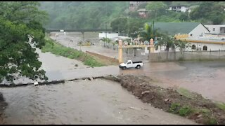 SOUTH AFRICA - Durban - 4th Street, Hillary washed away (Video) (DwS)