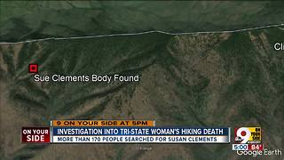 Cleves woman found dead in national park