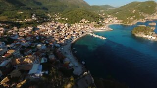 Jaw-dropping drone footage from the Mediterranean in Greece