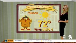A happy Thanksgiving forecast