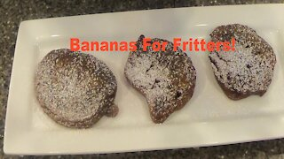 Episode 3 - Bananas For Fritters!