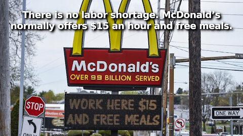 The Labor Shortage is Only a Myth If You Ignore Unemployment Pays More Than an Honest Day's Work