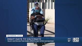 Valley doctor who was in ICU for COVID-19 offering 8-day vaccine event