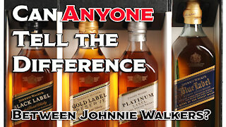 Can anyone Identify Johnnie Walker Labels