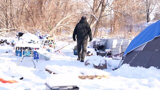 Lansing homeless camp prompts city to create task force