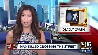 Pedestrian struck, killed by car in Phoenix
