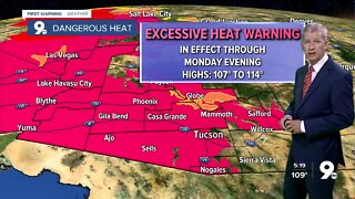 Excessive Heat Warnings remain in effect