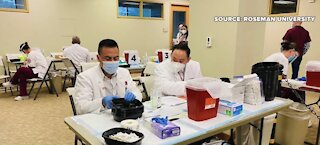 Tier 1 individuals receive COVID-19 vaccine