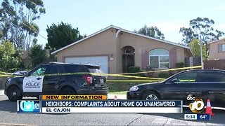 Neighbors: Complaints about home go unanswered