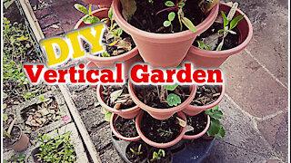 DIY Vertical Garden | Stackable Planter | Dollar Tree DIY