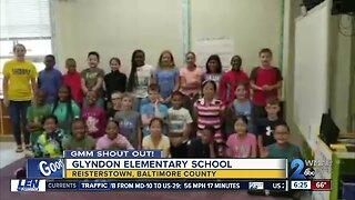Good morning to Glyndon Elementary School!