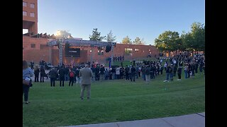Sunrise Remembrance Ceremony held to remember 1 October victims