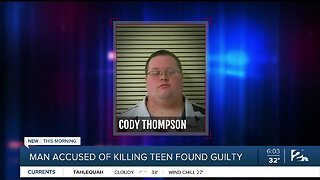 Man accused of killing teen found guilty