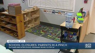 School closures leaving parents scrambling