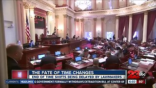 The fate of Daylight Saving Time in California