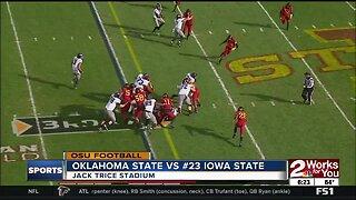 Oklahoma State Upsets #23 Iowa State 34-27