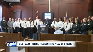Buffalo Police recruiting new officers