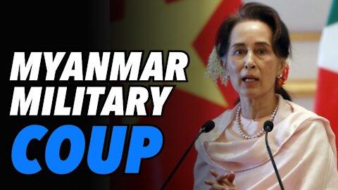 Myanmar military coup and Aung San Suu Kyi