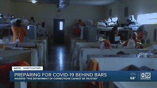 Prison insiders fear coronavirus outbreak