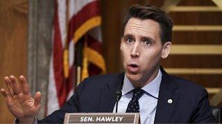 Sen. Josh Hawley To Contest Certification Of Electoral College Results