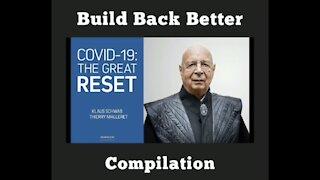 "Build Back Better = The Great Reset = ""New World Order Propaganda"""