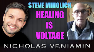Steve Miholick Discusses Healing Is Voltage with Nicholas Veniamin