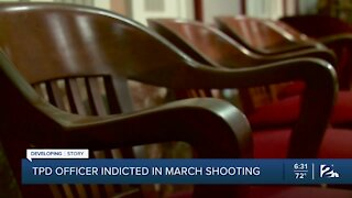 Tulsa Police Officer, Indicted After March Shooting