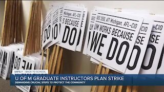 U of M graduate instructors plan strike