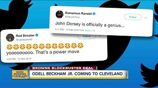Browns players and fans alike reacting to the OBJ to CLE move