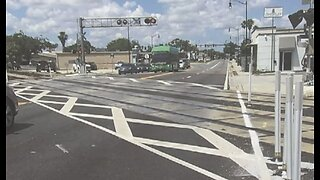 Proposed rail crossing safety changes