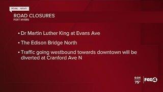 Eta causes road and bridge closures