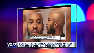 Suspect in River Rouge double murder named person of interest in overnight Detroit murder