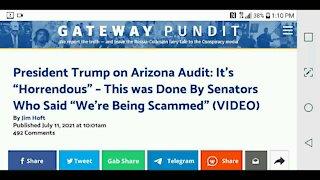 Trump on Arizona Audit...