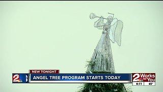 Angel Tree program starts Saturday