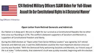 Senior Millitary Leaders WARNING Biden's the Enemy