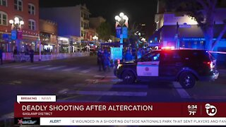 Police investigate deadly shooting in Gaslamp Quarter