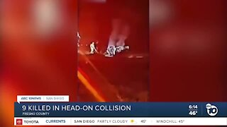 9 killed in head-on collision