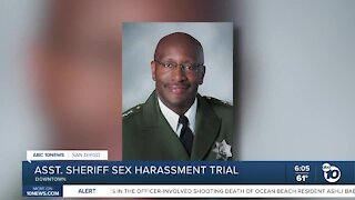 SD Assistant Sheriff sexual harassment trial