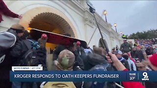 Kroger responds to Oath Keepers