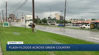 Flash floods across Green Country